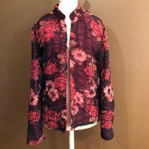 Coldwater creek floral jacket