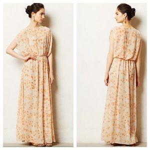 Paper Crown Peach Blossom Maxi Dress