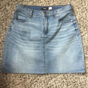 Sexy Mini Denim Skirt from Urban Outfitters!