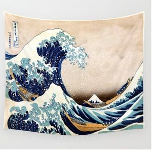 Tapestry - The Great Wave off Kanagawa