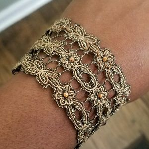 Jewelry - Lace Bracelet 8 inches long