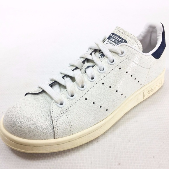 7085feb5fa83 Adidas Shoes - ADIDAS Crack Stan Smith Leather White Sneaker 7