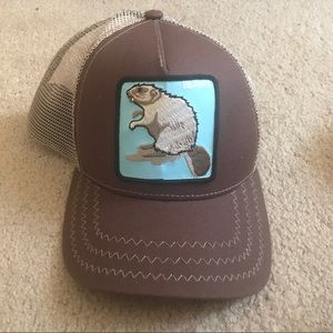 71f9c27a445 Accessories - Beaver mesh snap back hat