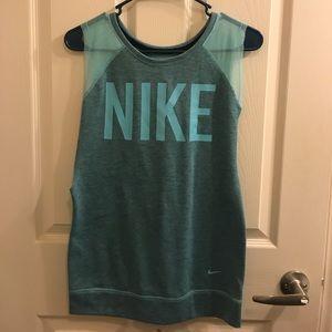 Nike teal tank top