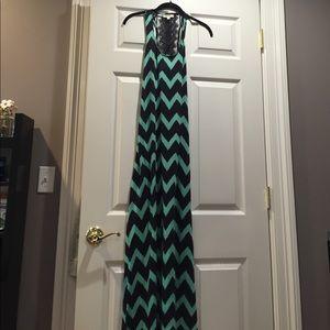 Nordstrom printed maxi dress
