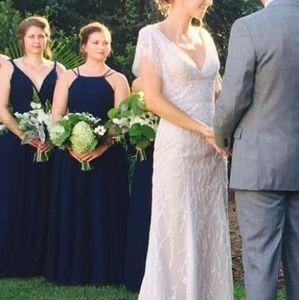 b13e24629c Azazie Dresses - Navy Azazie Melinda Bridesmaids Dress
