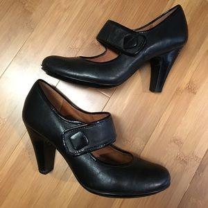 Sofft Black Heels, Size 8