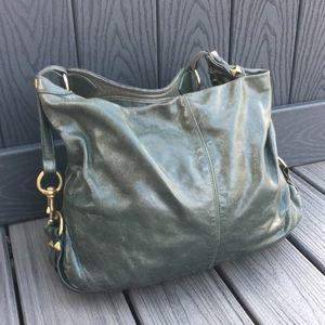 Rebecca Minkoff Olive Leather Shoulder Bag
