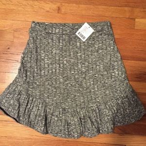 urban outfitters soft gray skirt