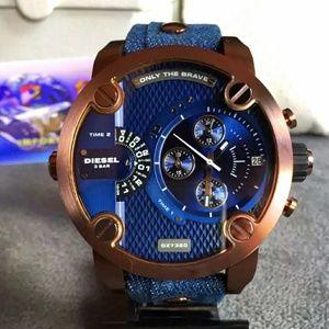 New Diesel Chronograph denim unique watch