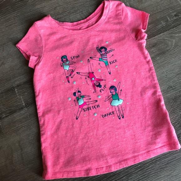 Cat /& Jack Boys//Girls Toddler Green Shamrock Guitar T Shirt Various Size NWOT