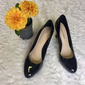 Black Patent Leather Heels from Franco Sarto