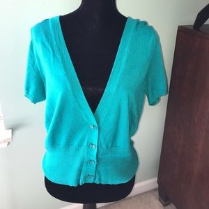 Women's Short Sleeve Cardigan