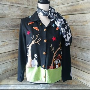 **REDUCED** Onque Casuals Halloween Cardigan