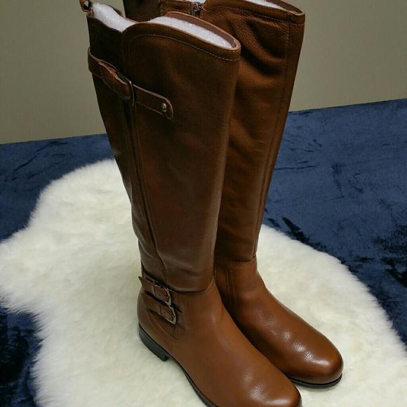 33ec57564761 NIB Naturalizer Jenson tan WC Riding Boots 7.5