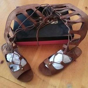 Gladiator sandal Charlotte Russe brand new in box