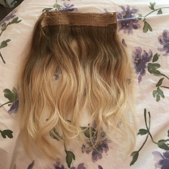 Accessories Ash Blonde Ombr Halo Extensions 230g Poshmark