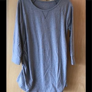 Liz Lange Grey Maternity Top