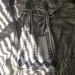 Embroidered Tank (forever21)