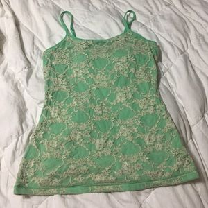 Express Built-in Bra lace cami!
