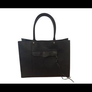 Rebecca Minkoff Leather Black Tote Bag