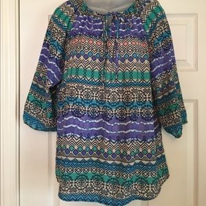 Women's Large top/blouse. Brand: Blue rain
