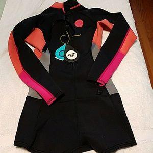 Roxy shortie wetsuit