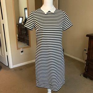 Tommy Hilfiger Striped Collar Dress