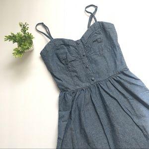 new listing! nordstrom • mimi china denim dress