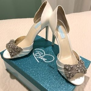 Blue by Betsy Johnson - Ivory Bridal Shoes