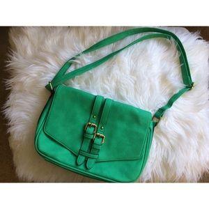 Emerald Green Crossbody Bag