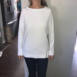 Textured Tunic Sweater / Sweatshirt