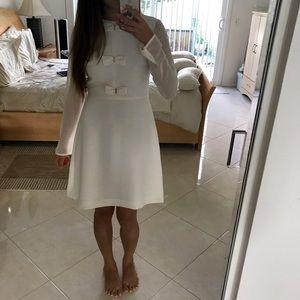Maison Jules Long sleeve dress - White