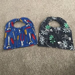 Other - Flannel bibs