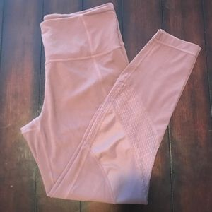 2a5b10d2ce8d1 Athleta Pants | Mesh Shine Salutation 78 Tight | Poshmark