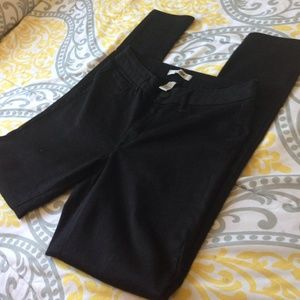 Black refuge jeggings