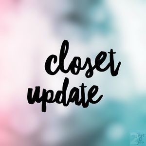 🎀 Closet Update 🎀