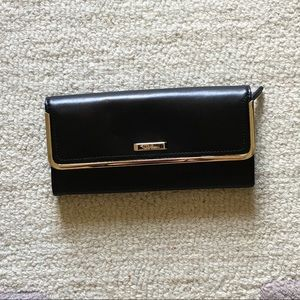 Leather Foldover Wallet - Cole Haan