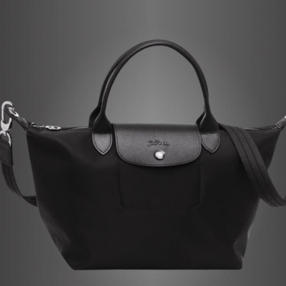 12baa6d8e00 Longchamp Handbags - Longchamp Le Pliage Neo Top Handle Small Black