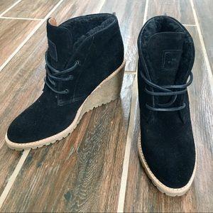 Authentic COACH Black Booties