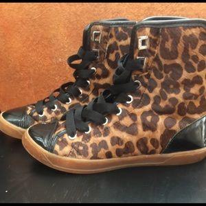 Michael Kors high top sneakers size 6 Women's