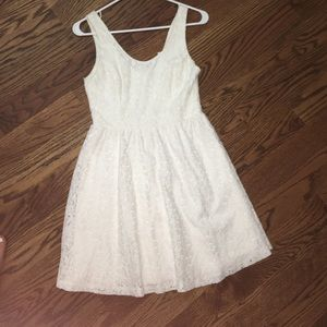Women's Small White Lace Dress from Nordstrom
