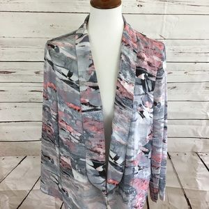 LUSH Watercolor Blazer