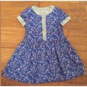 Pippa & Julie Girls Tracey Contrast Trim Dress