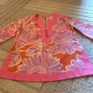 Banana Republic silk tunic