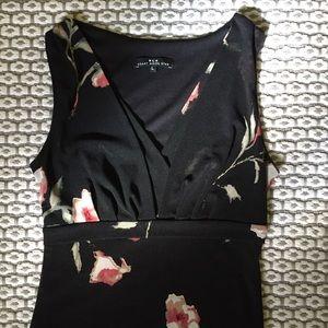 Vintage 90's Floral Midi Dress