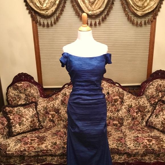 Alex Evenings Dresses | Off The Shoulder Evening Dress | Poshmark