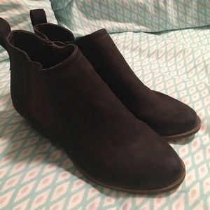 Merona Dark Brown Booties / Ankle Boots