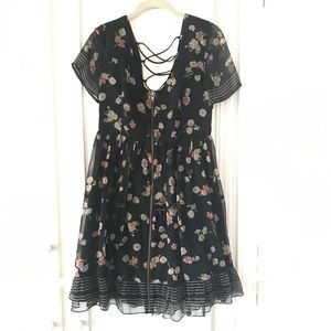 Foley + Corinna 90's Inspired Babydoll dress