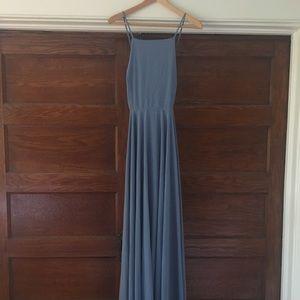 Mythical Kind of Love Slate Blue Dress